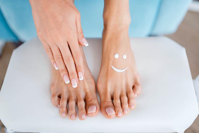 Female Feet Διαβητικό πόδι